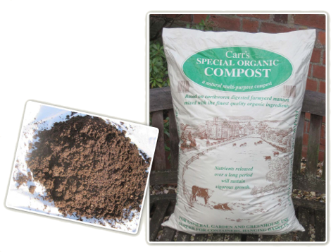 Carrs Special Organic Compost